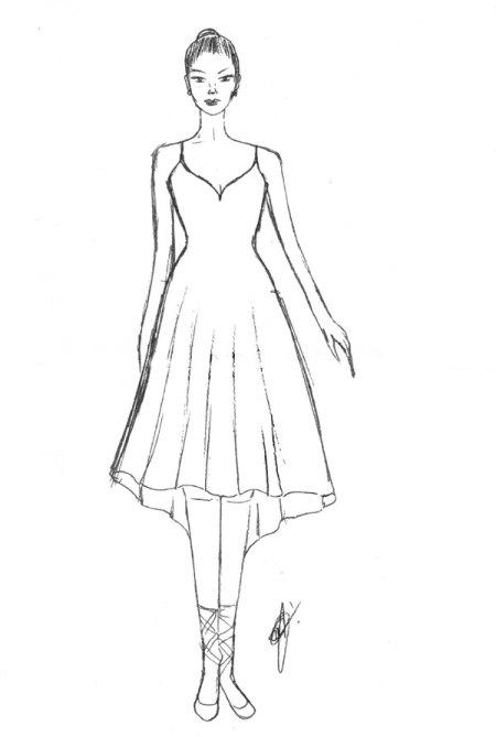 Este é o segundo figurino da bailarina.
